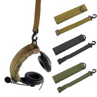 Headband modular avançado tático de Molle da tampa dos auriculares para Earmuffs gerais