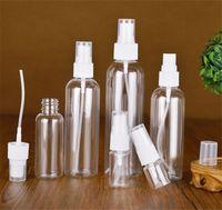 100ML رذاذ زجاجة الجميلة السائل ميست الحاويات البلاستيكية زجاجة زجاجات طقم سفر بخاخ زجاجات قابلة لإعادة التعبئة للماكياج مستحضرات التجميل DHL