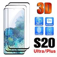 3D kavisli tam tutkal temperli cam Samsung Galaxy S10 artı s 9 tam kapak kavisli kenar filmi Kılıf için Galaxy S8 not 8 not 9 S20 Ultra 10