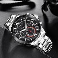 Lederband Silber Datum automatische mechanische Bewegung Mann-Uhr-Luxus-Sport Herren Rose Gold Uhren Armbanduhr