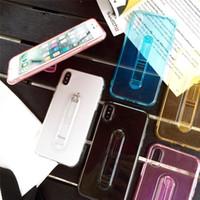 아이폰 7 8plus xr x max 11 pro 12에 대 한 아이폰 케이스에 대 한 저렴한 가격 개폐식 투명한 투명한 투명한 투명한 투명한 투명한 투명한 투명한 투명한 TPU 핑거 홀더