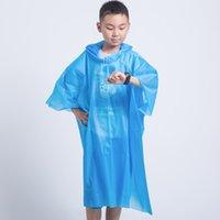 الأطفال الغير قابلين للتخلص من المعطف الواقي من مياه الأمطار الأطفال الشفافين كابا دي تشوفا فانتيل مينينو