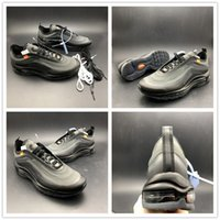 Newest 97 OW Sports Shoes Fashion 97 All Black Grey Designer...