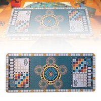 Tapis de jeu pour Azul Game Party Azuling jeu Jeux de société Tapis de jeu plate-forme Table de jeu pour la maison Toy Jeux Jouer