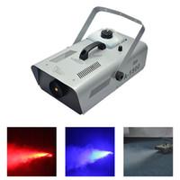 AUCD EE. UU. Enchufe de la UE 220V 110V 1500W Máquina de humo termostática de niebla Máquinas de niebla remotas DJ Luz de escenario para fiesta en casa Boda Smoke-A1500