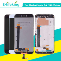 Per XIAOMI Redmi Nota 5A / Nota 5A Prime Display LCD Touch Screen Digitizer Assembly con telaio per Redmi Nota 5A Sostituzione originale