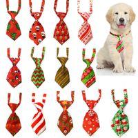 Собака ухаживающая кошка полосатый бабочка галстук животных полосатый бабочка воротник рождественские домашние животное регулируемая шейная галстука для фестиваля вечеринка свадьба XD22634
