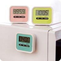 Кухня Таймер цифровой батарейках ЖК-дисплей минуту Второй отсчет времени Напоминание Cooking Alarm Sea Shipping 500pcs T1I1973