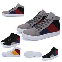 Frete grátis Designer Shoes Moda homens da forma Azul Mulheres Canvas Sneakers Triplo Black White Red Shoes Skate Casual 39-44