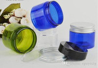50g clear green blue PET wax concentrate containers, Non- sti...