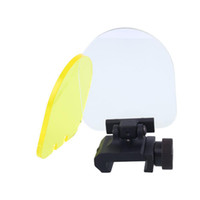Taktik airsoft aksesuarları için katlanabilir lens çerçeve lens kapağı 552 556 551 red dot sight tüfek kapsam avcılık için