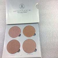 شحن مجاني ePacket ماكياج جديد الوجه 4 ألوان فسفورية Bronzers ملون! 7.4G