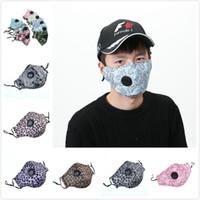 في سوق الأسهم 12 أنماط التنفس صمام مكافحة الغبار قناع الوجه أقنعة واقية للطي الوجه الغبار درع الوجه