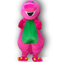 2019 costume de mascotte adulte Barney chaud de qualité adulte taille costume de mascotte barney livraison gratuite
