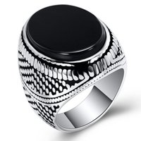 Stainless Steel Rings Jewelry European and American Style Vi...