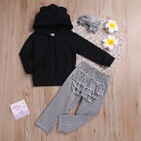 good quality Baby Clothes Set 2PCs Kids Winter Clothes Solid...
