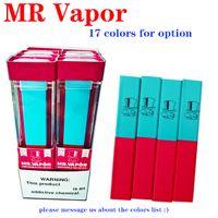 2020 barras de tracción MR VAPOR disspape pluma Dispositivo Pod Starter Kit MRVAPOR 280mAh batería 1,3 ml cartuchos 400Puffs precargada e cigs vaporizadores.