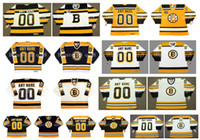 Personalizzato vintage Boston Bruins Jerseys Personalizzazione Le maglie di hockey su ghiaccio cuciono qualsiasi nome Numero Dimensione S-XXXXL
