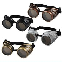 Gothic Vintage Steampunk Goggles Welding Punk Gothic Glasses...