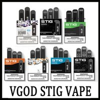 100% Original VGOD STIG descartável esvaziar Pod Dispositivo 3Pcs / Pacote de 270mAh Battery 1,2 ml Cartucho Vape Pen Kit PK Posh Eon Puff Bar