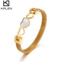 Fashion Hollow Mesh Bracelets Womens 3 Colors Gioielli Tide Bracciale Bracciale Bracciale Bracciale Accessori di alta qualità Vendite calde
