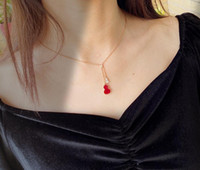 Necklace Mandarin Duck Gourd Necklace 925 sterling silver fo...