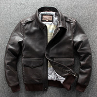 men's a2 flight jacket