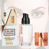 TLM Forece Foreing Foundation Интеллектуальный ремонт Вседейственные сияющие жидкие основы бархатного касания безупречный макияж лица