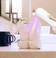 المحمولة UVC القدم مبيد للجراثيم التعقيم أنبوب الحذاء تطهير مصباح الأشعة فوق البنفسجية UV تطهير التطهير ضوء معقم المطهر UVC
