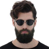 Классические мужчины Солнцезащитные очки Женщины Бренд Дизайнер 2019 Ретро Урожай Солнцезащитные Очки Для Женщин Мужчины Мужская Леди Женский Солнцезащитные Очки Зеркало
