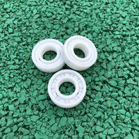 6 pcs / 10 pcs 6900 ZrO2 completa cerâmica rolamento 10x22x6mm Zirconia cerâmica rolamentos rígidos de esferas 10 * 22 * 6mm