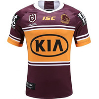 2020 Brisbane Broncos Erwachsene Super Rugby Jersey Shirt MAILLOT CAMISETA MAGIA TOPS S-5XL Trikot Camisas
