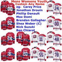 Montreal Canadiens Maglie Womens completa Shea Weber Jersey Nick Suzuki Ben Chiarot Joel Armia Paul Byron Hockey su ghiaccio pullover su ordinazione cucita