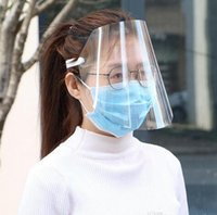 24 hours ship Clear Full Face Shield Protective Face Mask An...