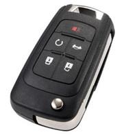 BUICK 원격 키 셸 키 커버 5buttons moq에 대한 고품질 자동 키는 10pcs입니다.