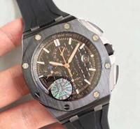 Beste Marke Neuheiten Luxus Keramik Fall Gummi Armbanduhr 7750 Cal.3126 Automatische Chronograph Bewegung Saphir Datum Männer Antike Uhren