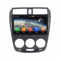 "8 GPS PX5 4 Go + 64 Go 10.1 ""Android 8.0 GPS de voiture pour Honda CITY 2006-2013 Radio stéréo Bluetooth WIFI Mirror-link USB DVR"