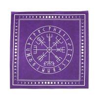 Coperchio Tapestry gioco da tavolo non tessuto Mago carte da gioco Divinazione Altare Patch Piazza festa a casa Tarocchi tovaglia Runes