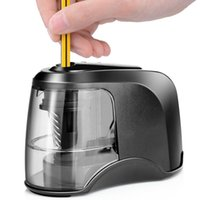 Electric Pencil Sharpener Portable Battery Operated For No. ...