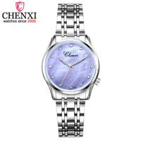 Chenxi donne fiore texture quadrante orologi da polso per ladies al quarzo orologio moda femmina relogio femminino orologi orologi impermeabili