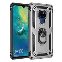 Parmak Yüzük Standı Defender militray Sınıf Koruyucu Kapak 100pcs ile Pro Samsung Note 10 Hibrid Darbeye Telefon Kılıfı