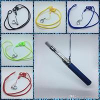 Portable Design innovant Longe fixe verrouillage Sling Collier corde doigt jouet pour EGO EGO-T Vape Ce4 Pen Kit Hot gâteau DHL