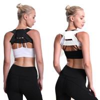 2019 Nova Spine Corrector postura Proteção Voltar Shoulder Postura correção Banda ajustável Jubarte Back Pain Relief