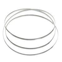 3pcs 5-3 / 4 pouces Taurus 3.0 et II.2 Bague de remplacement de scie diamant Coated Lame de scie pour le verre et autres matériaux de coupe