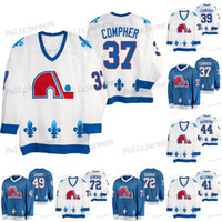 49 Samuel Girard Nordiques Patrimoine 72 Joonas Donskoi Mark Barberio Pierre-edouard Bellemare Pavel Francouz J. T. Compher Jersey