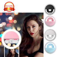 셀카 링 라이트 RK-12 LED 셀카 등 휴대 전화의 사진 액세서리 뷰티 라이트 소녀들을위한 심야 휴대 전화 램프 렌즈 충전기