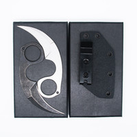 New Arrival tool claw krambit Tactical Knives 440C Stone Was...