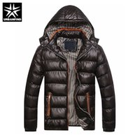 URBANFIND New Men Winter Jacket Fashion Hooded Thermal Down ...