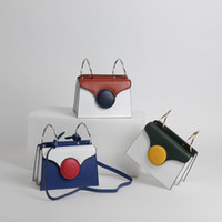 Fashion contracted crossbody bags for girl genuine split cow...