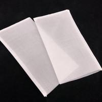 100pcs / lot filtro de té bolsas de nylon Vaciar desechables Las bolsitas de té de hierbas secas de té Infuser del tamiz bolsa transparente bolsa de almacenamiento